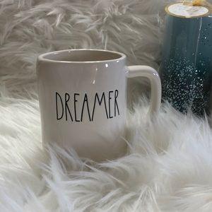 "Rae Dunn ""DREAMER"" coffee mug New"